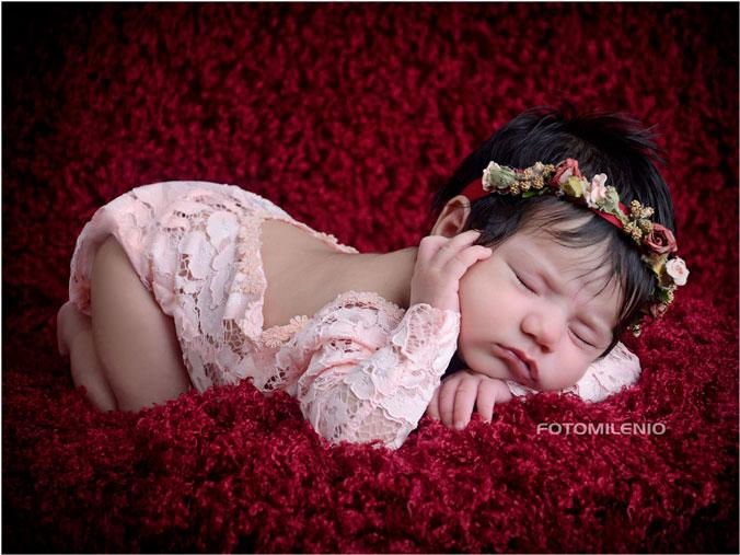 Foto Estudio de Recién Nacido